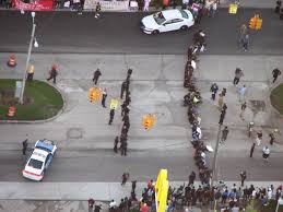 dozens arrested during minimum wage protest at detroit mcdonald u0027s