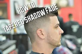 shadow fade haircut with taper and scissors on top youtube