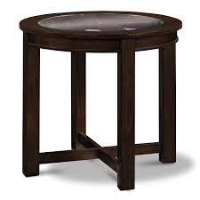 four corners end table merlot value city furniture