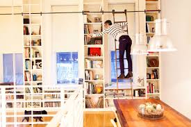 Rolling Ladder Bookcase by Jeff Halmos U0026 Sam Shipley The Selby
