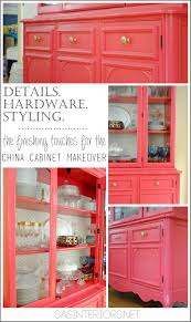 The Styling Hutch Details Hardware Styling China Cabinet Makeover Jenna Burger
