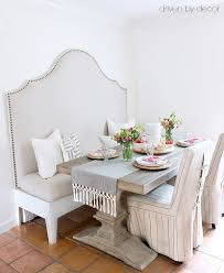 7 steps to a diy upholstered kitchen banquette driven by decor