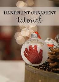 new baby handprint ornament baby by thebabyhandprintco