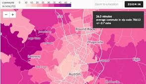 Cypress Zip Code Map by Average Commute Times From Cedar Park Cedar Park Texas Living