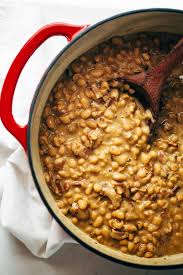 homemade brown sugar baked beans recipe pinch of yum