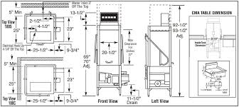 Cma 180 Dishwasher Manual Cma Dishmachines Cma180tsb Appliances Connection