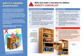 Household Items Checklist by Safety Advice Accc Www Bedsgympie Com