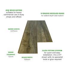 Laminate Floor Thickness Harbour Oak Grey Commercial Grade Laminate Flooring