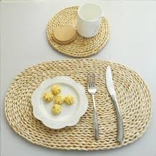 popular straw coasters buy cheap straw coasters lots from china