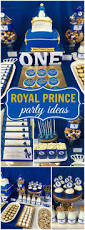 Blue And Gold Baby Shower Decorations by Royalty Blue U0026 Gold Birthday