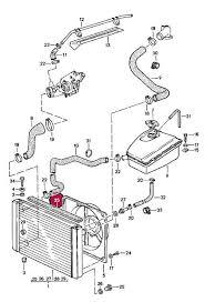 1983 porsche 944 radiator porsche 944 sealing rubber for radiator