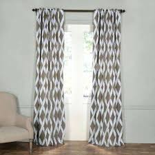 gray and brown curtains semi opaque crosshatch grey blackout