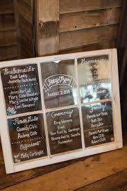 Order Wedding Programs Window Pane Wedding Program Menu Welcome Sign Made To Order