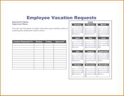 vacation policy template 11 vacation tracking templates free