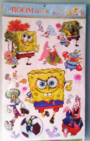 Spongebob Room Decor by Wall Decal Funny Ideas Spongebob Wall Decals Room Design