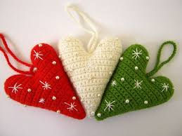 Christmas Decorations Best 25 Crochet Christmas Decorations Ideas On Pinterest