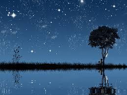 sky star starry night romantic wallpaper full hd sky hd 16 9