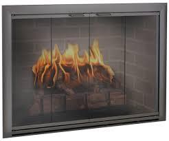 bifold fireplace doors fireplace ideas