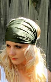 wide headband swakcouture cotton stretchy jersey headband wide women s