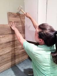 How To Make Hardwood Flooring From Pallets Laminate Flooring Backsplash It Looks Like Wood Wood Walls