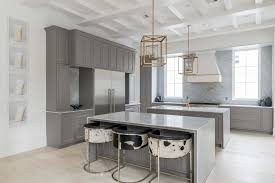 ideas for grey kitchen cabinets 20 gray kitchen cabinets we re loving hgtv
