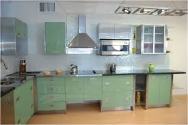 Metal Cabinets For Kitchen Green Metal Kitchen Cabinets Affordable Metal Kitchen Cabinets