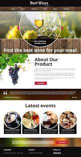 Kosher Champagne Website Template 48242 Best Wine Custom Website Template Best