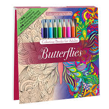 amazon com seasons coloring book set with 24 colored