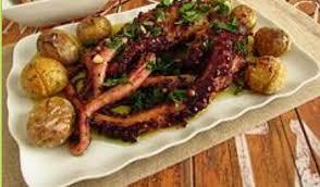 recette cuisine portugaise recette poulpe à la portugaise polvo à lagareiro à découvrir