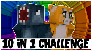 Stampy Adventure Maps 10 In 1 Challenge The Dropper 3 Minecraft Custom Map W