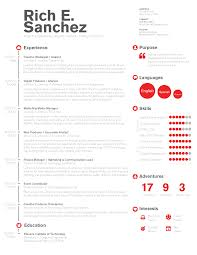 resume template for managers executives den simple clean infographic timeline resume design for digital