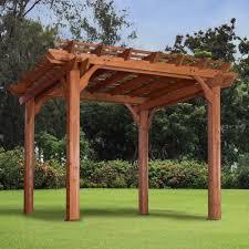 Patio Gazebo Lowes by Garden Garden Winds Pergola With Leading Shop Gazebo Parts Amp