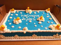 rubber ducky baby shower cake 2 1 cupcake baby shower cake