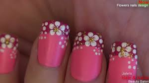 nail art designs flowers nails design
