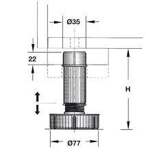 kitchen base cabinet adjustable legs base cabinet levelers adjustable leg in the häfele