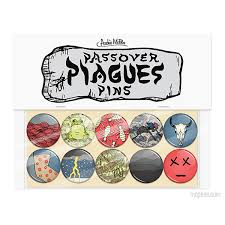 passover plague masks passover plague pins archie mcphee