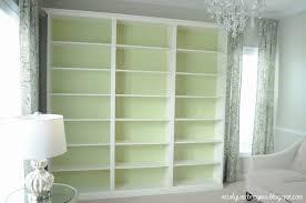 Small Billy Bookcase Billy Built In Bookshelves Ikea Hackers Ikea Hackers