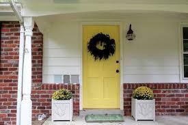 exterior paint colors with orange brick home design ideas
