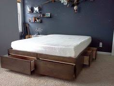 Build Platform Bed Storage Under by Diy Storage Bed Yes I Was Literally Just Thinking About