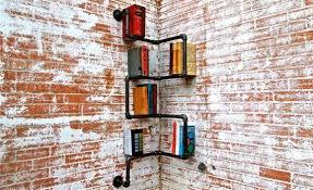 Paperback Bookshelves Piped Paperback Storage Industrial Bookshelves