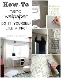 how to hang wallpaper like a pro burger