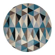 Round Colourful Rugs by Multi Coloured Archives Just Rugs