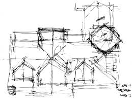 architectural roof designs architecture rough sketch wolf rough