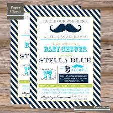 mustache baby shower invitations photo mustache baby shower invitations image
