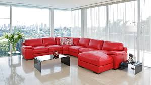 Livingroom Suites Long Island Leather Modular Lounge Suite In Black Farm House