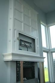 Curtain Place Curtain Wall Hooks Adding Character Above Fire Place And Around