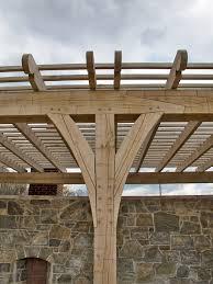 Timber Trellis Timber Frame Pergolas U0026 Pavilions New Energy Works