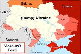 Map Ukraine Geocurrents Maps Of Ukraine Geocurrents