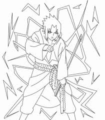 sasuke coloring pages naruto with sasuke anime coloring pages for