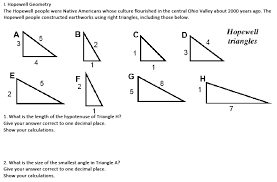special right triangles easing the hurry syndrome